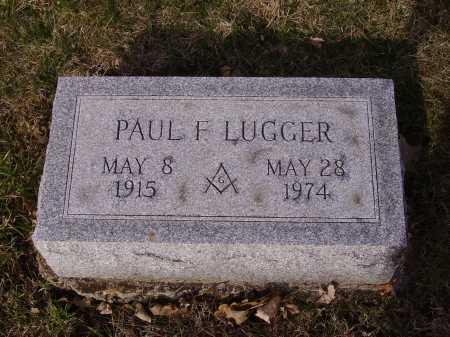 LUGGER, PAUL F. - Franklin County, Ohio | PAUL F. LUGGER - Ohio Gravestone Photos