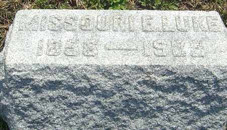 HOLL LUKE, MISSOURI ELSIE - Franklin County, Ohio | MISSOURI ELSIE HOLL LUKE - Ohio Gravestone Photos