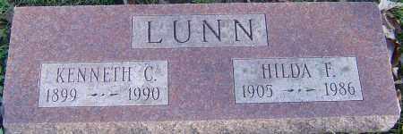 LUNN, HILDA F - Franklin County, Ohio | HILDA F LUNN - Ohio Gravestone Photos