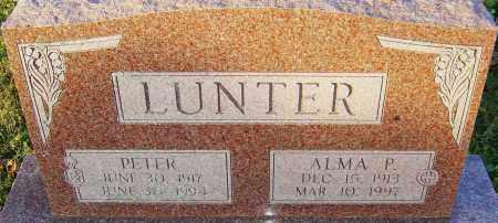 LUNTER, ALMA - Franklin County, Ohio | ALMA LUNTER - Ohio Gravestone Photos