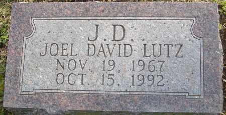 LUTZ, JOEL DAVID - Franklin County, Ohio | JOEL DAVID LUTZ - Ohio Gravestone Photos