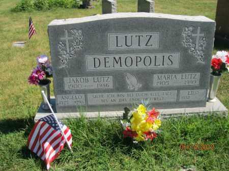 LUTZ, MARIA - Franklin County, Ohio | MARIA LUTZ - Ohio Gravestone Photos