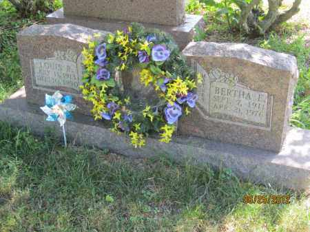 LUZADER, BERTHA E - Franklin County, Ohio   BERTHA E LUZADER - Ohio Gravestone Photos
