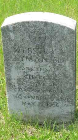 LYMAN, WEBSTER - Franklin County, Ohio | WEBSTER LYMAN - Ohio Gravestone Photos