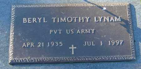 LYNAM, BERYL TIMOTHY - Franklin County, Ohio | BERYL TIMOTHY LYNAM - Ohio Gravestone Photos