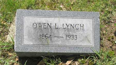 LYNCH, OWEN L. - Franklin County, Ohio   OWEN L. LYNCH - Ohio Gravestone Photos