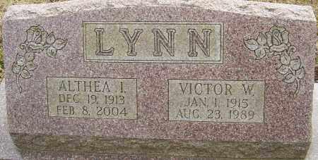LYNN, ALTHEA I - Franklin County, Ohio   ALTHEA I LYNN - Ohio Gravestone Photos