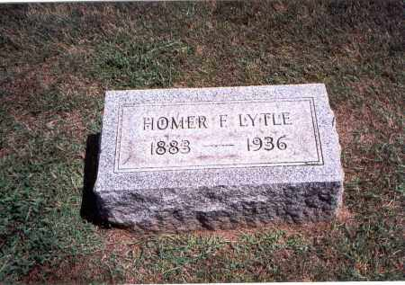 LYTLE, HOMER F. - Franklin County, Ohio | HOMER F. LYTLE - Ohio Gravestone Photos