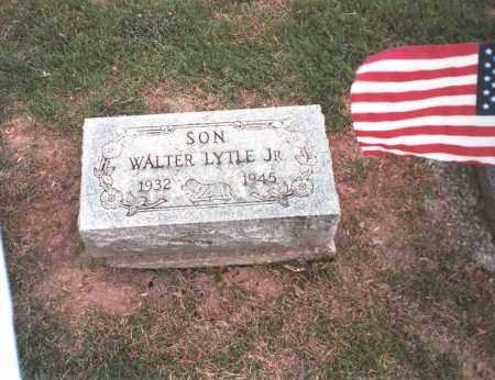 LYTLE, JR., WALTER - Franklin County, Ohio | WALTER LYTLE, JR. - Ohio Gravestone Photos