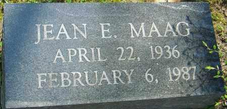 MAAG, JEAN E - Franklin County, Ohio   JEAN E MAAG - Ohio Gravestone Photos