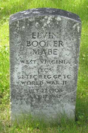 MABE, ELVIN BOOKER - Franklin County, Ohio   ELVIN BOOKER MABE - Ohio Gravestone Photos