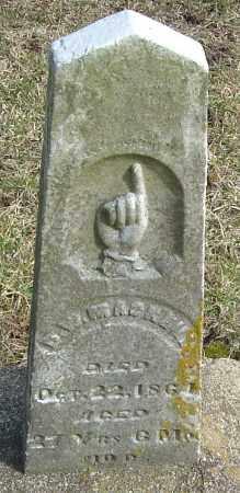 MACRILL, D W - Franklin County, Ohio   D W MACRILL - Ohio Gravestone Photos