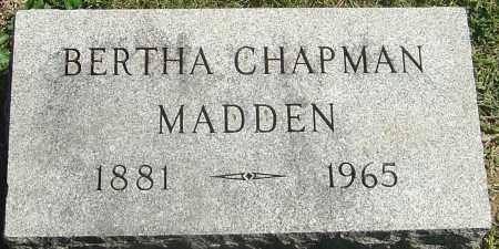 MADDEN, BERTHA - Franklin County, Ohio | BERTHA MADDEN - Ohio Gravestone Photos