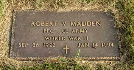 MADDEN, ROBERT V. - Franklin County, Ohio | ROBERT V. MADDEN - Ohio Gravestone Photos