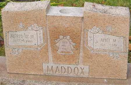 MADDOX, ALYCE - Franklin County, Ohio | ALYCE MADDOX - Ohio Gravestone Photos