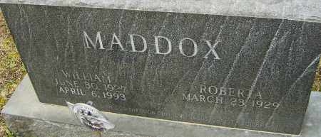 MADDOX, WILLIAM - Franklin County, Ohio   WILLIAM MADDOX - Ohio Gravestone Photos