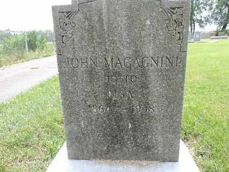 MAGAGNINI, JOHN - Franklin County, Ohio | JOHN MAGAGNINI - Ohio Gravestone Photos
