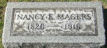 BETTS MAGERS, NANCY E - Franklin County, Ohio | NANCY E BETTS MAGERS - Ohio Gravestone Photos