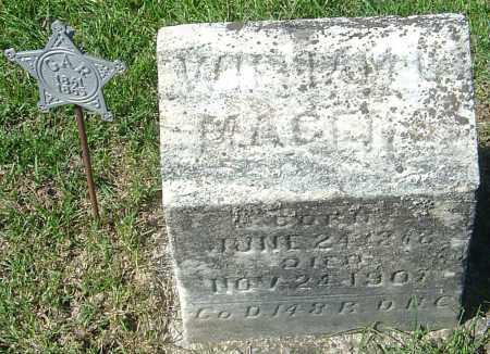MAGERS, WILLIAM C - Franklin County, Ohio | WILLIAM C MAGERS - Ohio Gravestone Photos