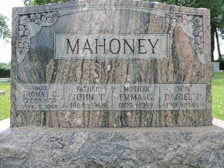 MAHONEY, JOHN - Franklin County, Ohio | JOHN MAHONEY - Ohio Gravestone Photos