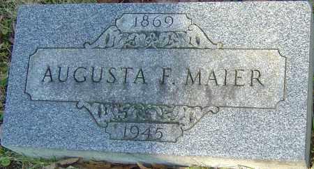FISCHER MAIER, AUGUSTA - Franklin County, Ohio   AUGUSTA FISCHER MAIER - Ohio Gravestone Photos