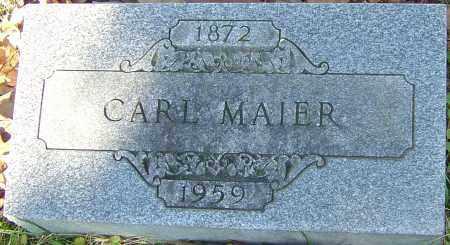 MAIER, CARL - Franklin County, Ohio   CARL MAIER - Ohio Gravestone Photos