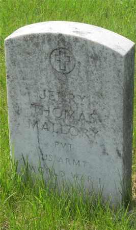 MALLORY, JERRY THOMAS - Franklin County, Ohio | JERRY THOMAS MALLORY - Ohio Gravestone Photos