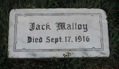 MALLOY, JACK - Franklin County, Ohio | JACK MALLOY - Ohio Gravestone Photos