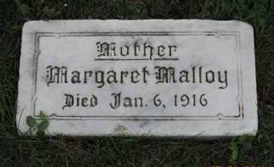 MALLOY, MARGARET - Franklin County, Ohio | MARGARET MALLOY - Ohio Gravestone Photos