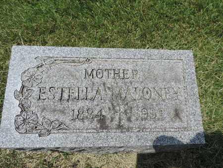 MALONEY, ESTELLA - Franklin County, Ohio   ESTELLA MALONEY - Ohio Gravestone Photos
