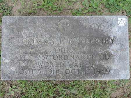 MALONEY, THOMAS E. - Franklin County, Ohio   THOMAS E. MALONEY - Ohio Gravestone Photos