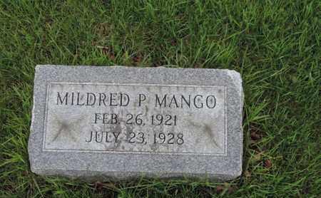 MANGO, MILDRED P - Franklin County, Ohio | MILDRED P MANGO - Ohio Gravestone Photos