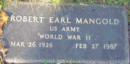 MANGOLD, ROBERT - Franklin County, Ohio | ROBERT MANGOLD - Ohio Gravestone Photos