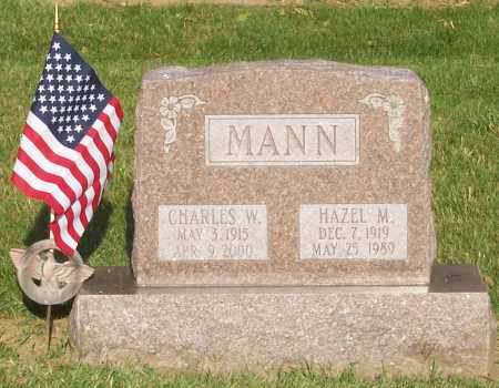 MANN, HAZEL - Franklin County, Ohio   HAZEL MANN - Ohio Gravestone Photos