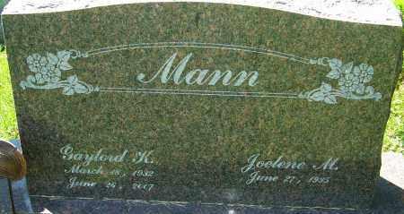 MANN, GAYLORD KEITH - Franklin County, Ohio | GAYLORD KEITH MANN - Ohio Gravestone Photos