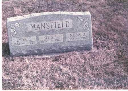 CLAFFEY MANSFIELD, LYDIA - Franklin County, Ohio | LYDIA CLAFFEY MANSFIELD - Ohio Gravestone Photos