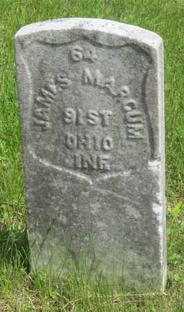 MARCUM, JAMES - Franklin County, Ohio   JAMES MARCUM - Ohio Gravestone Photos
