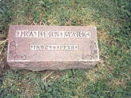 MARK, IRA BERN - Franklin County, Ohio | IRA BERN MARK - Ohio Gravestone Photos