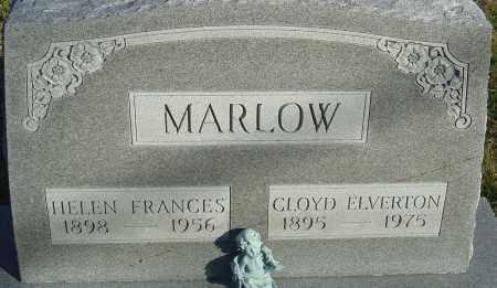 MARLOW, CLOYD ELVERTON - Franklin County, Ohio | CLOYD ELVERTON MARLOW - Ohio Gravestone Photos