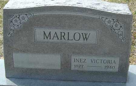 MARLOW, INEZ VICTORIA - Franklin County, Ohio | INEZ VICTORIA MARLOW - Ohio Gravestone Photos