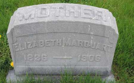 MARQUART, ELIZABETH - Franklin County, Ohio | ELIZABETH MARQUART - Ohio Gravestone Photos
