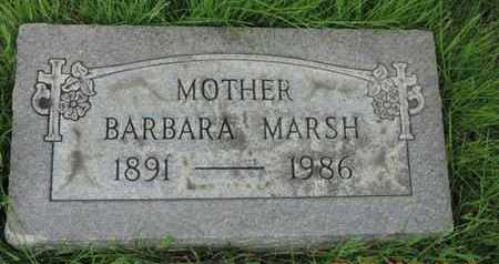 MARSH, BARBARA - Franklin County, Ohio | BARBARA MARSH - Ohio Gravestone Photos