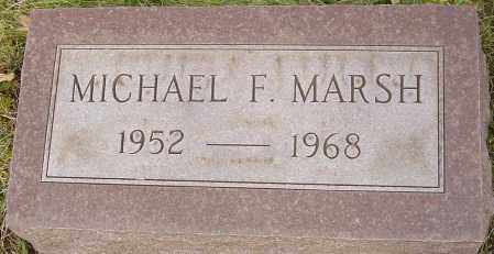 MARSH, MICHAEL F - Franklin County, Ohio | MICHAEL F MARSH - Ohio Gravestone Photos