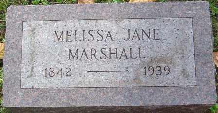 MARSHALL, MELISSA JANE - Franklin County, Ohio | MELISSA JANE MARSHALL - Ohio Gravestone Photos