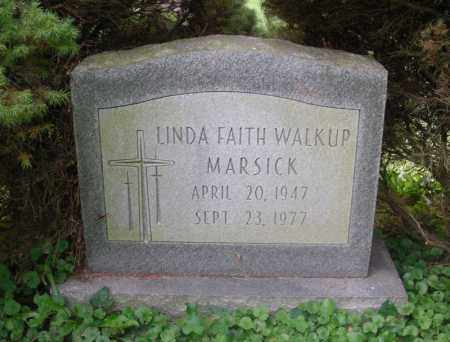 MARSICK, LINDA - Franklin County, Ohio | LINDA MARSICK - Ohio Gravestone Photos