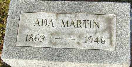 BENNETT MARTIN, ADA - Franklin County, Ohio | ADA BENNETT MARTIN - Ohio Gravestone Photos