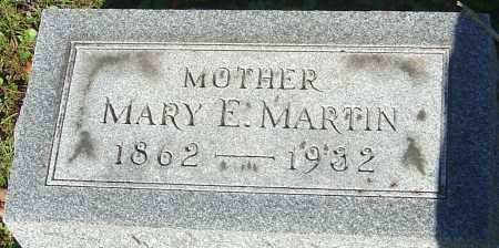MARTIN, MARY E - Franklin County, Ohio   MARY E MARTIN - Ohio Gravestone Photos