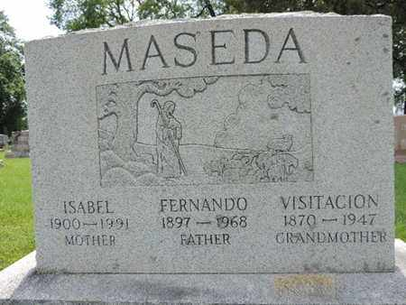 MASEDA, FERNANDO - Franklin County, Ohio | FERNANDO MASEDA - Ohio Gravestone Photos
