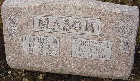MASON, CHARLES M - Franklin County, Ohio | CHARLES M MASON - Ohio Gravestone Photos