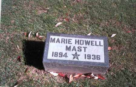 HOWELL MAST, MARIE - Franklin County, Ohio | MARIE HOWELL MAST - Ohio Gravestone Photos